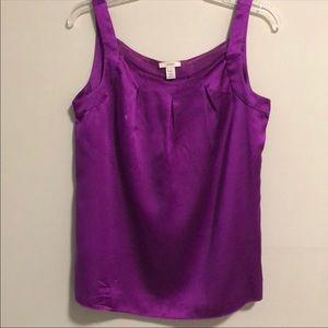 J. Crew 100% silk shell blouse